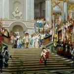 メヌエットとルイ14世。