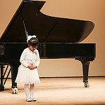 ピアノ発表会に参加する前に「ピアノ発表会目標」を決めました。