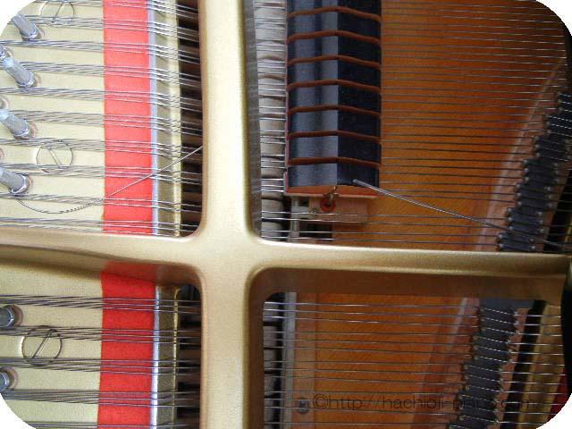 切れたピアノ線